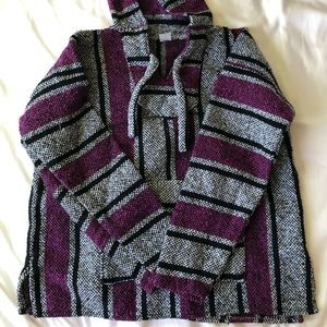 Womens Mexican Poncho Sweater On Poshmark